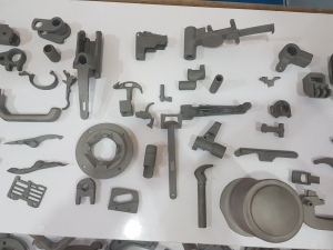 CNC machining and investment casting