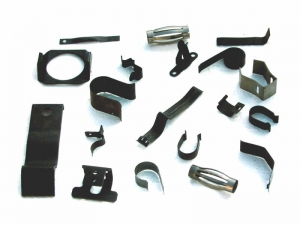 Springs and strip pieces